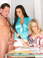 Watch these 3 hot fucking..
