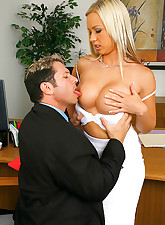 Robyn gets her tits fucked..