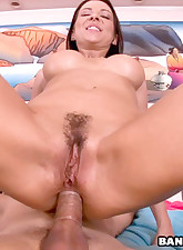 This hot little mommy gets..