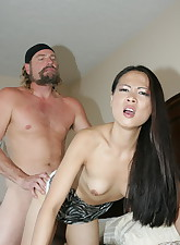 Hot Asian with a tight..