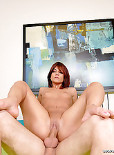 Redhead strokes this thick..