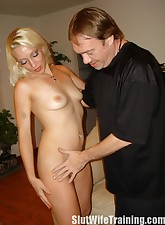 Hot Wife Svedka Training to..