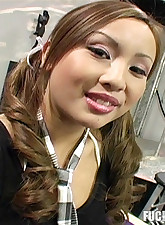 Mean asian banging by..