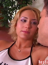Horny blonde Trina Michaels..