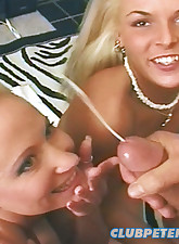 Oral loving blonde bimbos..