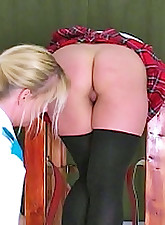Lara is in todays caning..