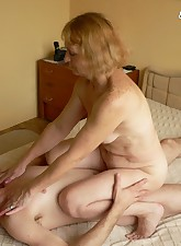 Horny mature slut having fun..