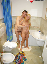 Mature housewife fucking and..