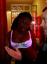 Black prostitute gets dirty..