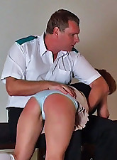 This is a spanking video to..