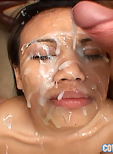 Luci Thai gets her face..