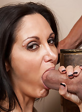 Ava Addams loves to ride..