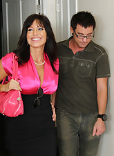 Busty MILF Tara Holiday has..