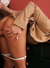 Hot worker Madison Ivy cant..