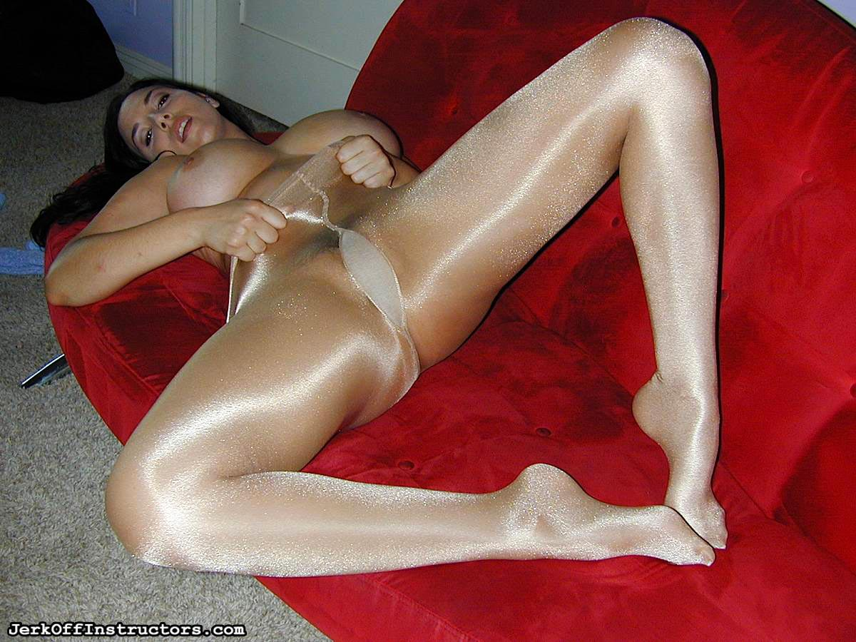Her Pantyhose Onto 12